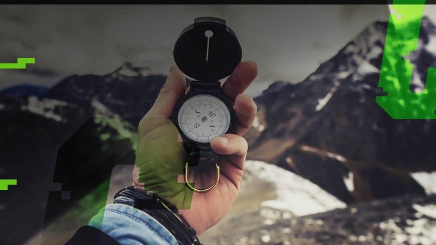 nawigacja z kompasem