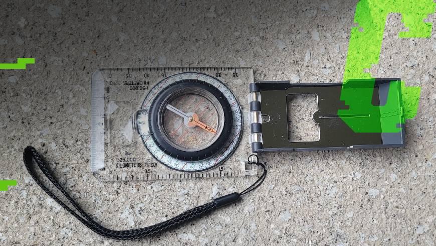 kompas płytkowy
