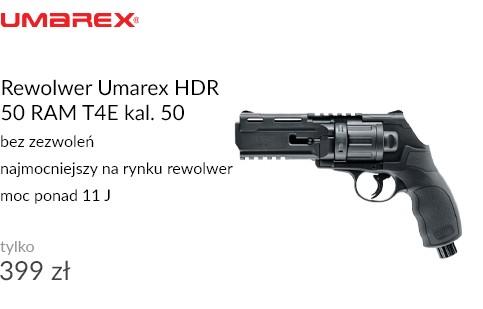 Rewolwer Umarex HDR 50 RAM T4E kal. 50