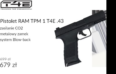 Pistolet RAM TPM 1 T4E .43
