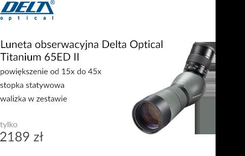 Luneta obserwacyjna Delta Optical Titanium 65ED II