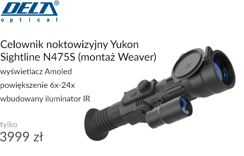 Celownik noktowizyjny Yukon Sightline N475S (montaż Weaver)