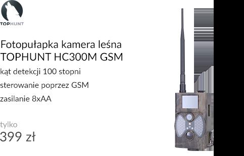 Fotopułapka kamera leśna TOPHUNT HC300M GSM