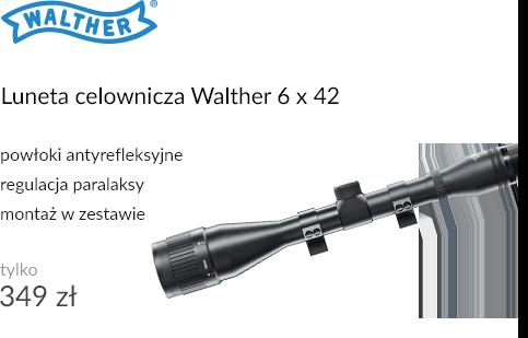Luneta celownicza Walther 6 x 42