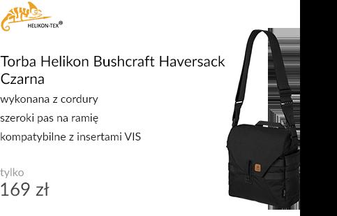 Torba Helikon Bushcraft Haversack Czarna