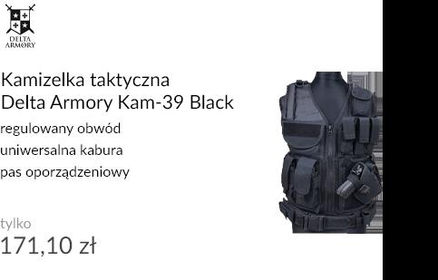 Kamizelka taktyczna Delta Armory Kam-39 Black