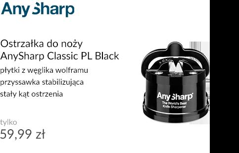 Ostrzałka do noży AnySharp Classic PL Black