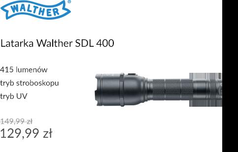 Latarka Walther SDL 400