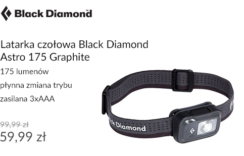 Latarka czołowa Black Diamond Astro 175 Graphite