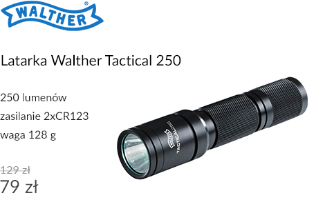 Latarka Walther Tactical 250