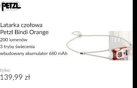 Latarka czołowa Petzl Bindi Orange