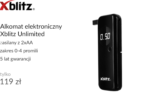 Alkomat elektroniczny Xblitz Unlimited