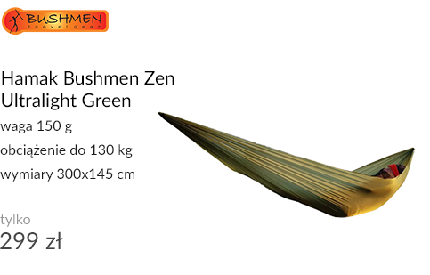 Hamak Bushmen Zen Ultralight Green