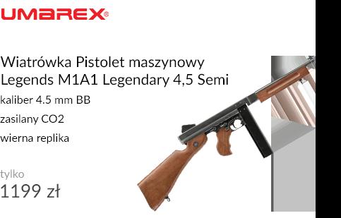 Wiatrówka Pistolet maszynowy Legends M1A1 Legendary 4,5 Semi