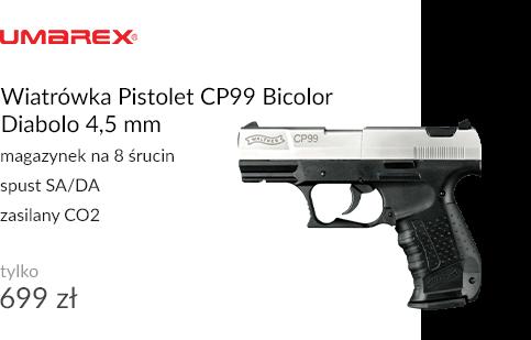 Wiatrówka Pistolet CP99 Bicolor Diabolo 4,5 mm