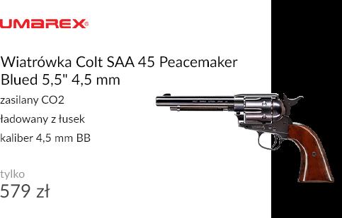 Wiatrówka Colt SAA 45 Peacemaker Blued 5,5