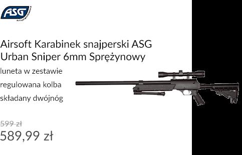Airsoft Karabinek snajperski ASG Urban Sniper 6mm Sprężynowy