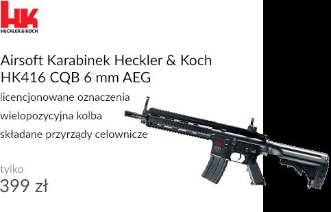 Airsoft Karabinek Heckler & Koch HK416 CQB 6 mm AEG
