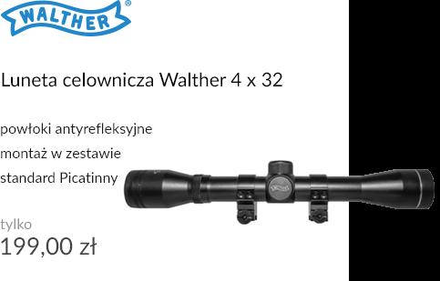 Luneta celownicza Walther 4 x 32