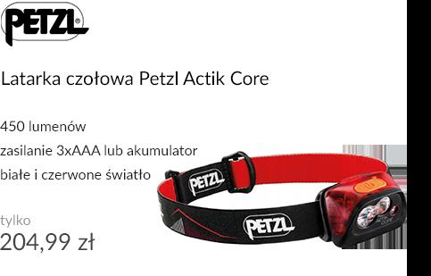 Latarka czołowa Petzl Actik Core Red