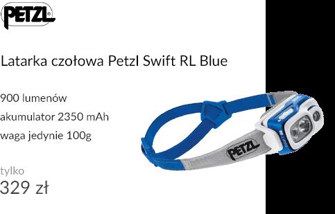 Latarka czołowa Petzl Swift RL Blue
