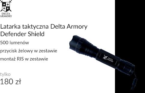 Latarka taktyczna Delta Armory Defender Shield