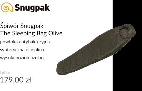 Śpiwór Snugpak The Sleeping Bag Olive