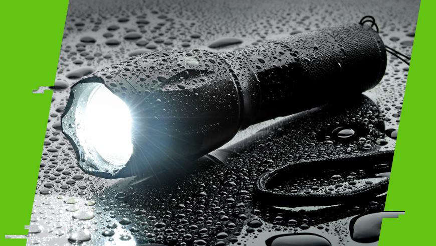 wodoodporna latarka