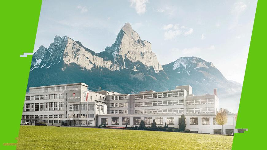 Siedziba firmy Victorinox w Ibach