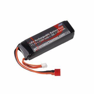 Akumulator ASG - LiPo - 11,1V - 2200 mAh - 30C - [1]
