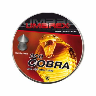 Śrut Umarex Cobra Pointed ribbed Diabolo 5,5 mm 200 szt.
