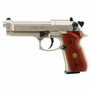 Wiatrówka Pistolet Beretta M92 FS Diabolo 4,5 mm Drewno