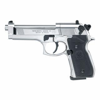 Wiatrówka Pistolet Beretta M92 FS Diabolo 4,5 mm Chrom