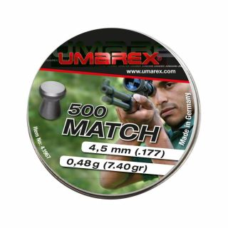 Śrut Umarex Match Flat smooth Diabolo 4,5 mm 500 szt.