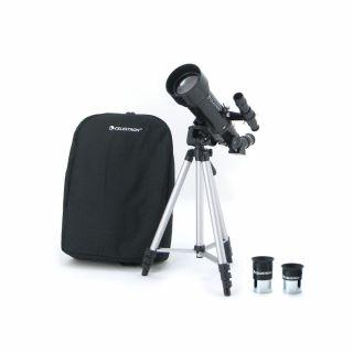Teleskop Celestron Horizon Travel 70 mm wraz z zestawem akcesoriów