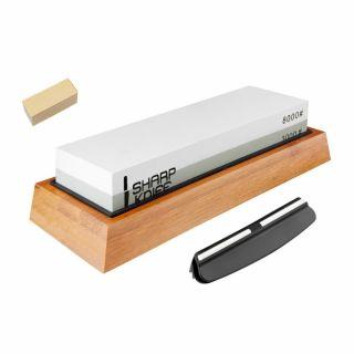 Ostrzałka kamień wodny Sharp Knife 3000/8000 + Kamień