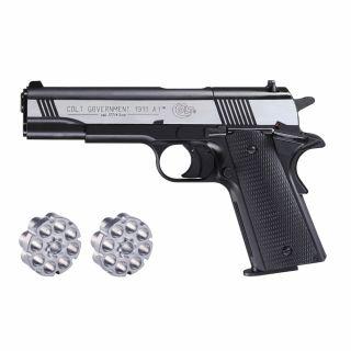 Wiatrówka Pistolet Colt 1911 A1 DarkOPS Diabolo 4,5 mm