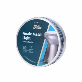 Śrut H&N Finale Match Light 4,49/500 szt.