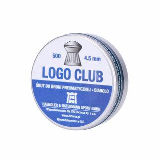 Śrut H&N Logo Club 4,50 mm/500 szt