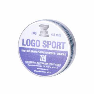 Śrut H&N Logo Sport 4,50 mm/500 szt