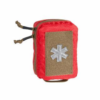 Kieszeń Helikon MINI MED KIT - Poliester - Czerwony