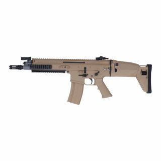 Airsoft Karabinek Cybergun FN SCAR-L CQC Tan