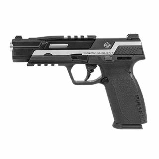 Airsoft Pistolet GTP9 Piranha MK I TR Silver 6 mm Green Gas