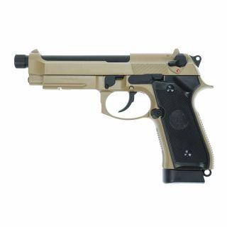 Airsoft Pistolet KJ Works M9 A1 TBC TAN CO2