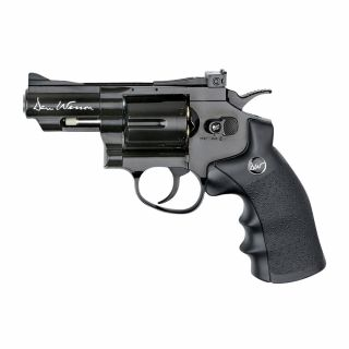 """Airsoft Rewolwer Dan Wesson 2.5"""" Black 6 mm CO2"""