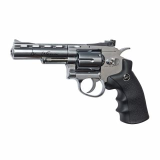 """Airsoft Rewolwer Dan Wesson 4"""" Silver 6 mm CO2"""