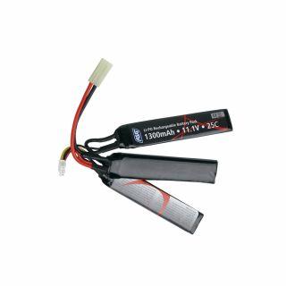 Akumulator ASG Li-Po 11,1 V 1300 mAh [1+1+1]