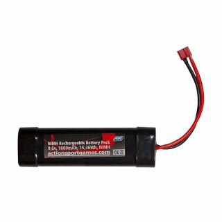 Akumulator ASG NiMH 9,6 V 1600 mAh T-plug connector