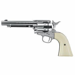 "Wiatrówka Colt SAA 45 Peacemaker Nickel Plated 5,5"" 4,5 mm"