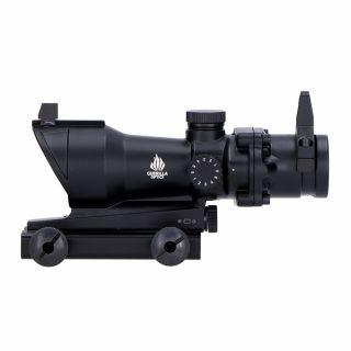 Celownik Kolimatorowy Guerilla Tactical ACOG Style Black